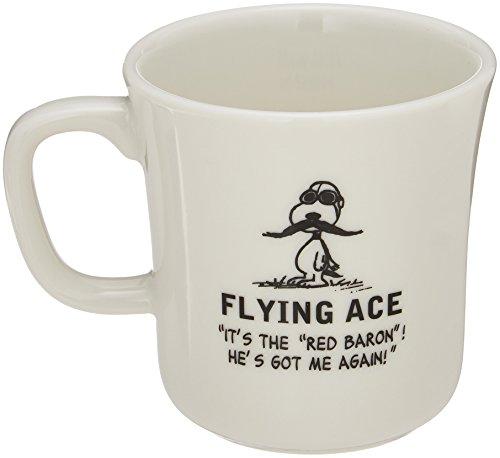 YAMAKA PEANUTS Snoopy Porcelain Mug SN221-11 Flying Ace
