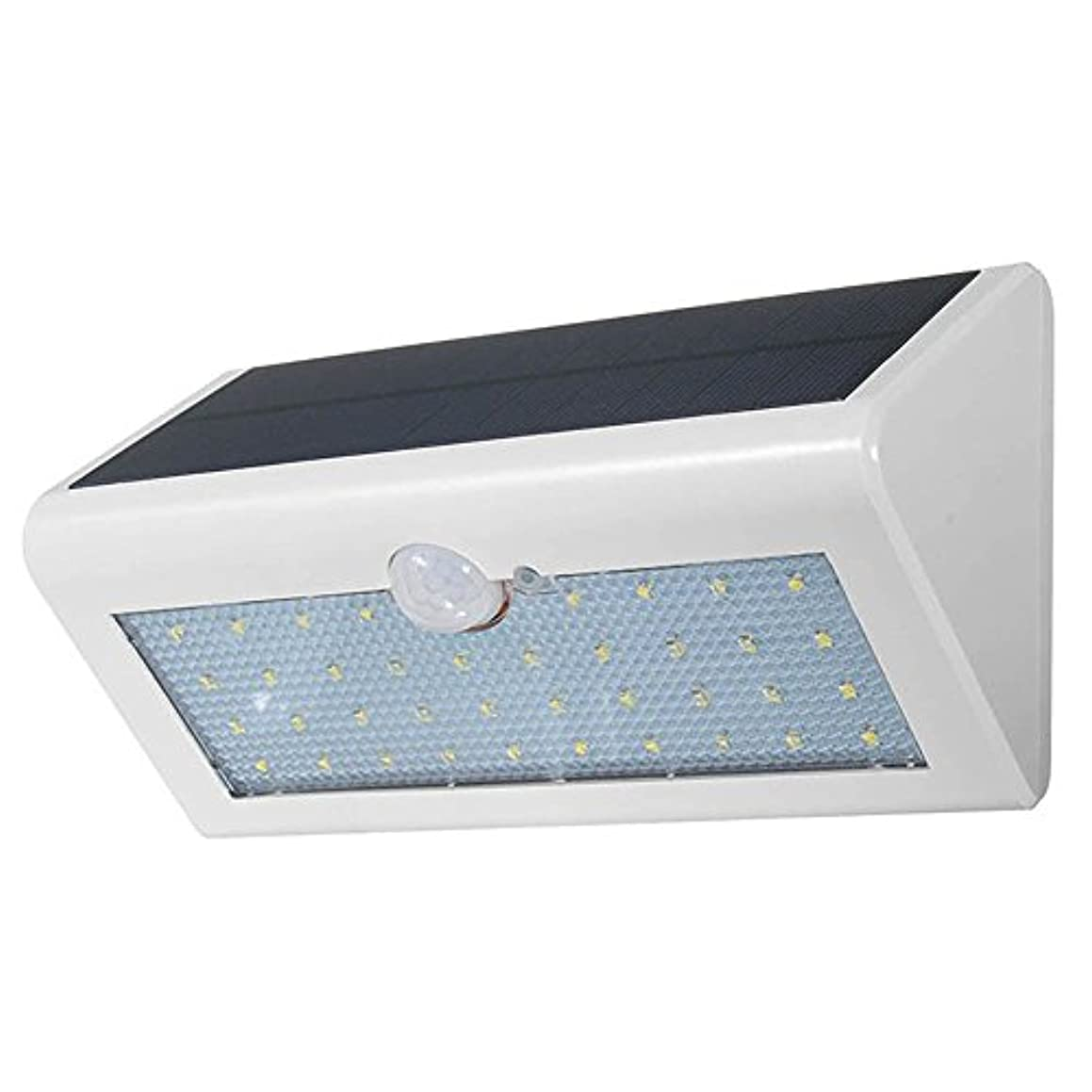 梨調整修正するFXJDD ホワイト38 LEDソーラーライト屋外モーションセンサーウォールライト4つのモードで自動オン/オフ屋外防水セキュリティライト壁フェンスデッキヤードガレージドライブウェイのナイトライト FXJDD
