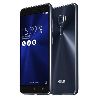 ASUS エイスース ZenFone 3 ブラック ZE520KL 3GB 32GB(SIMフリー ) [並行輸入品]