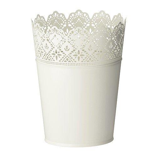 RoomClip商品情報 - ★スクラール / SKURAR 鉢カバー / オフホワイト[イケア]IKEA(20193347)