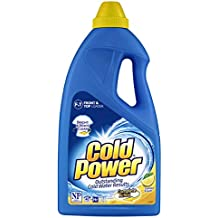 Cold Power Complete Action, Lemon Fresh, Liquid Laundry Detergent, 2 Liters
