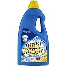 Cold Power Complete Action, Lemon Fresh, Liquid Laundry Detergent, 2 Liters