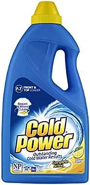 Cold Power Regular Complete Action, Lemon Fresh, Liquid Laundry Detergent, 40 Washloads