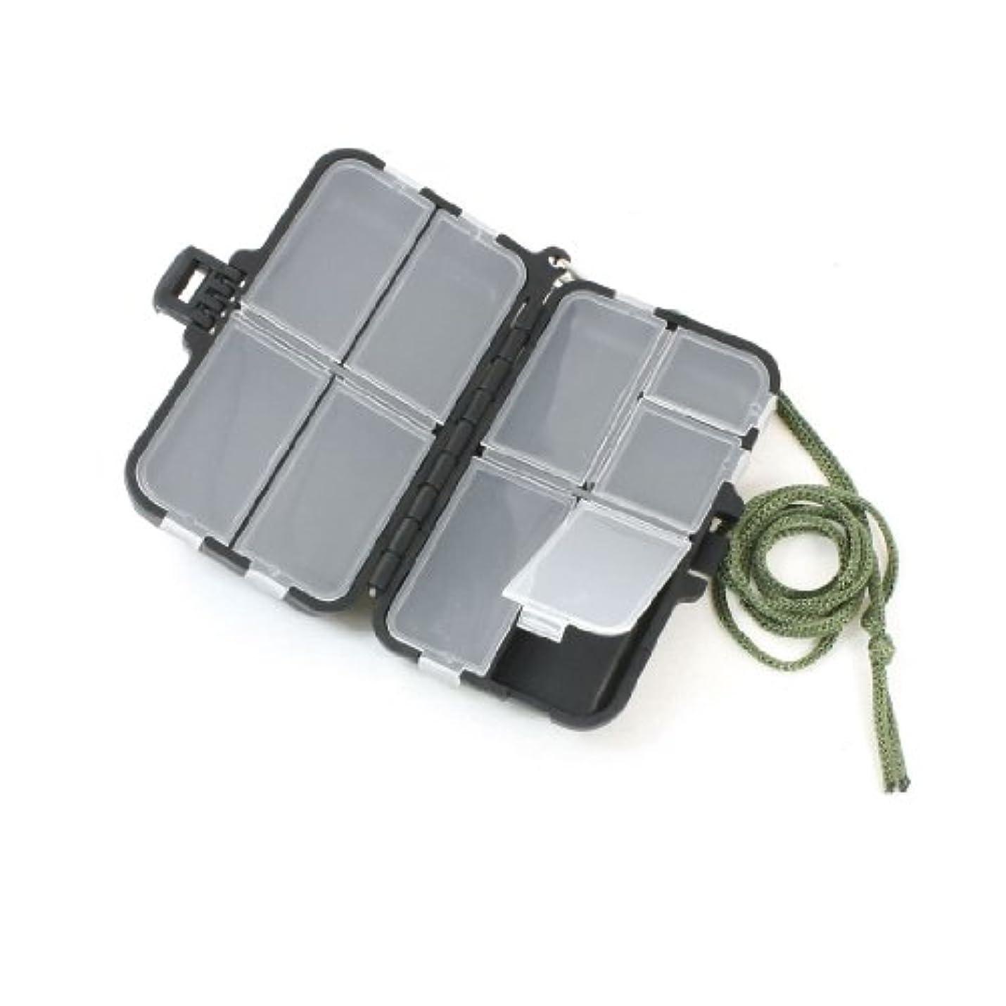 好ましいホイップ分岐するuxcell 釣りフックケース ルアー収納 防水 仕掛け収納 釣り具ケース フィッシュフックケースボックス ワットストラップ ポータブル 9コンパートメント