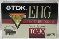 TDK e-hgサウンド&カラーtc-30VHS - Cテープ
