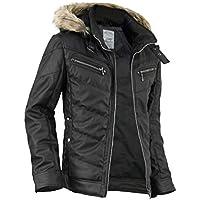 中綿ジャケット メンズ 冬 白 黒 ブルゾン 中綿 レザージャケット 冬服 ミリタリージャケット 冬アウター