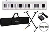 ROLAND/ローランド FP-30 WH 電子ピアノ 白/ホワイト【純正ケースカバー CB-88RL + Xスタンド KS100B セット】