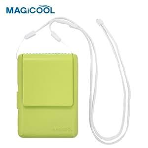 携帯型(首かけ)扇風機 マイファンモバイル(グリーン)首もとに送風 熱中症・暑さ対策(通勤通学・オフィス・野外活動・他)DOCMFMD1GR