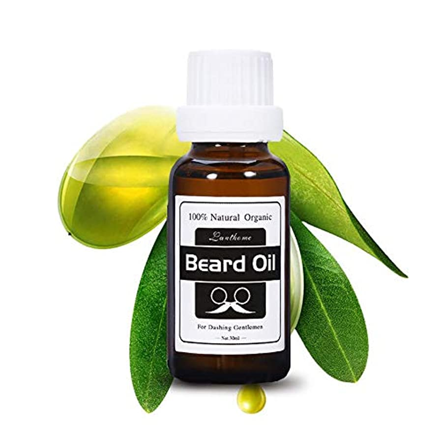 娘囚人後方パンオイル、FIRSTSUN 100%天然のひげ油の口ひげが成長する刺激的な顔の毛の栽培者の紳士のひげの心配