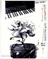ポスター ロバート ラウシェンバーグ New York Philharmonic 150th Anniversary 1992年 限定2000枚 額装品 アルミ製ハイグレードフレーム(ホワイト)