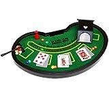 いつでもどこでもその場がカジノに早変わり!ミニチュア ブラックジャックセット