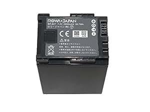 【増量】【ロワジャパン社名明記のPSEマーク付】【全機種 純正充電器 残量表示対応】CANON キヤノン IVIS HF の BP-827 互換 バッテリー