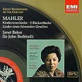 Great Recordings Of The Century - Janet Baker Sings Mahler / Barbirolli, et al