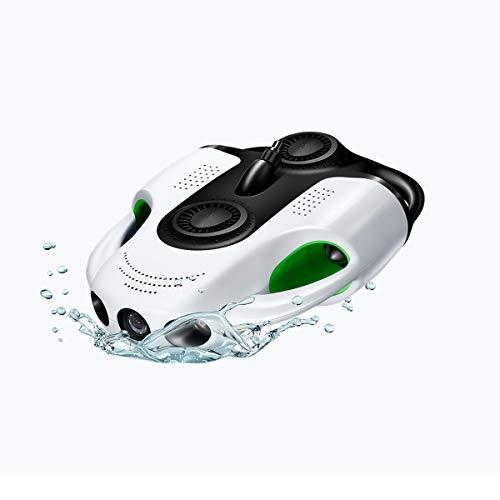 【国内正規品】Youcan Robot 水中ドローン BW Space Pro 4Kモデル 水中ホバリング 水深100m 垂直上下 仰俯角最大±45度調整・維持・推進 4Kカメラ 広角レンズ 高画質 手ぶれ補正 水中撮影 ライブ中継 ボート ダイビング マリン 釣り 点検 産業用 ROV 最大5時間使用