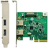 玄人志向 STANDARDシリーズ PCI-Express x4接続 USB3.1外部2ポート増設カード USB3.1A-P2-PCIE