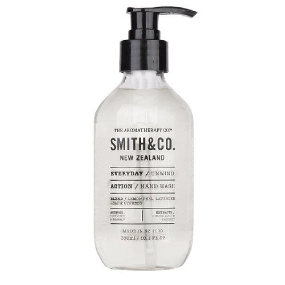 疲れた洪水薄汚いSmith&Co. スミスアンドコー Hand&Body Wash ハンド&ボディウォッシュ Unwind アンワインド