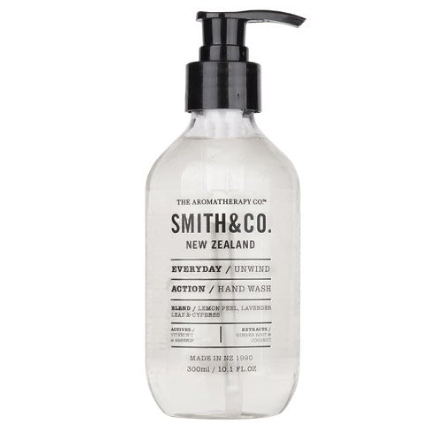知覚するドレス嫌なSmith&Co. スミスアンドコー Hand&Body Wash ハンド&ボディウォッシュ Unwind アンワインド