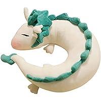 ぬいぐるみ白いドラゴンネックピロー - GinkgoTree ぬいぐるみ動物のU字型の枕