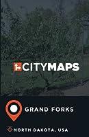 City Maps Grand Forks North Dakota, USA