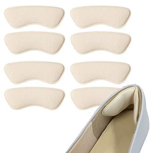 日本製 パカパカ&靴擦れ防止かかとパット4足セット 3Kシリーズ K001 ベージュ フリーサイズ