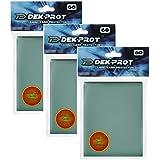 DEK PROT マジック+ポケモンサイズ ゲームカードプロテクター 180スリーブ サボテングリーン