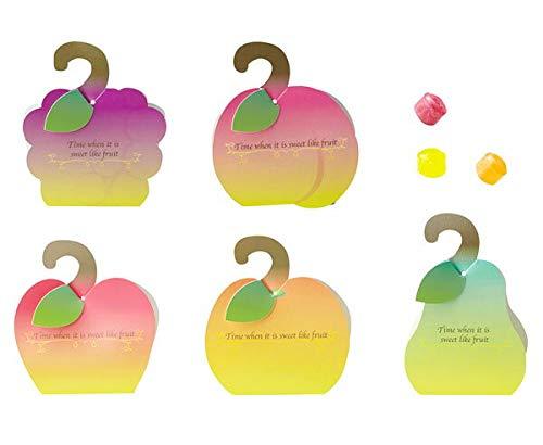 フルーツツリーのプチギフト (1個) フルーツキャンディ(3個入り) リンゴ・オレンジ・梨・ぶどう・桃のうちの1箱※お客様は選べません【結婚式 パーティー プチギフト バレンタイン ホワイトデー】