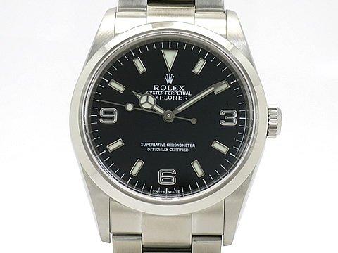 (ロレックス)ROLEX 腕時計 エクスプローラー1 SS 114270(K) 中古