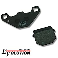 エボリューション(EVOLUTION) セミメタルブレーキパッド EV-342D AR80 KD80 KS-II