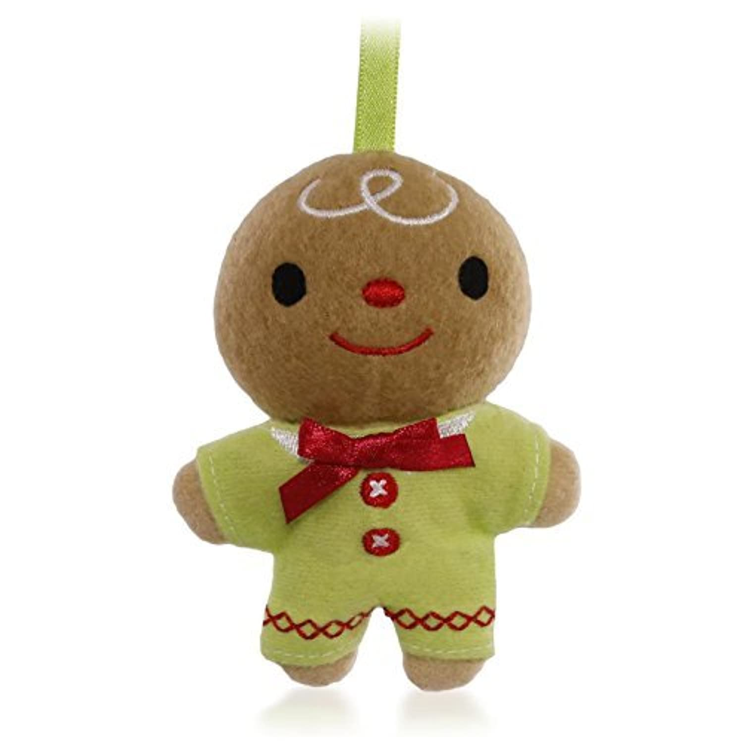Hallmark Keepsake Kids' Ginger Boy Plush Ornament [並行輸入品]