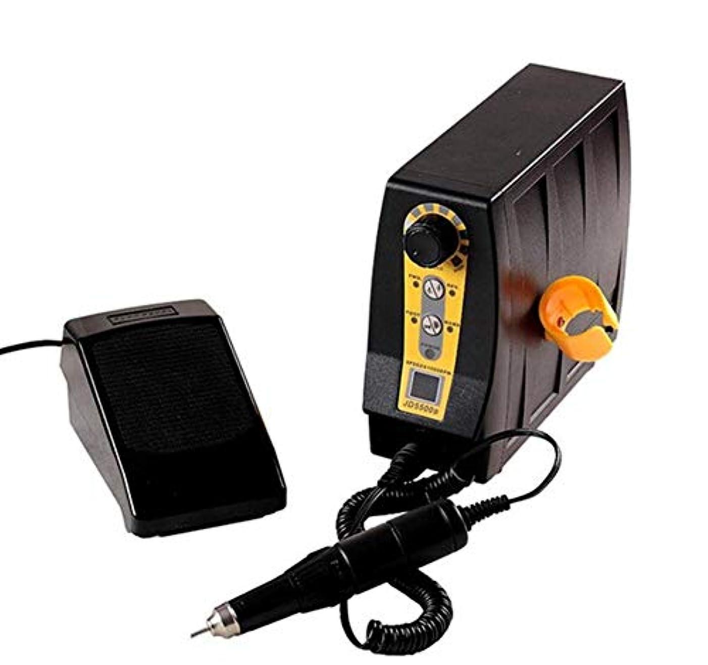 許容できるネストジャンプ電気35000 rpmネイルドリルネイルアート思いやりのある彫刻機器マニキュアペディキュアマシンネイルファイルネイルポリッシャードリルビットアクセサリー液晶ディスプレイ