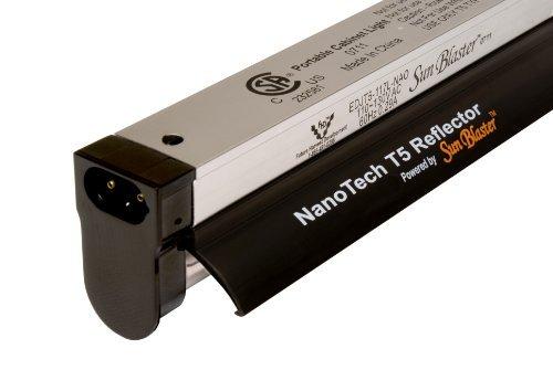 Sunblaster 904297 NanoTech T5 High Output Fixture Reflector Combo 3-Feet [並行輸入品]