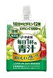 伊藤園 毎日1杯の青汁 おいしいフルーツミックス ゼリー飲料 160g ×30個
