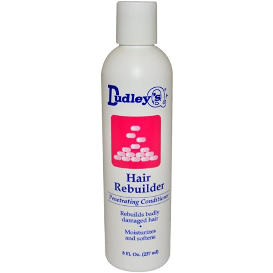 Dudley's 髪の再建浸透性ユニセックスコンディショナー、8オンス 小さい 白