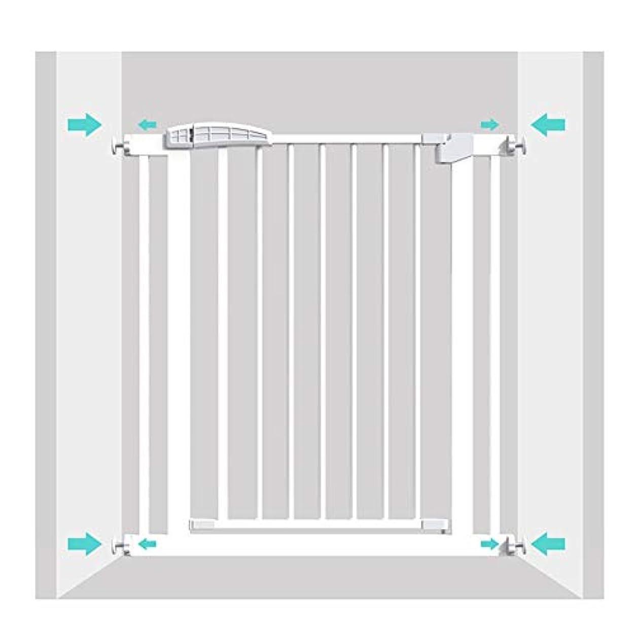 オーナー憧れ防ぐベビーゲートWEIMEI ワイド 階段 ゲート 圧力 装着済み ベビーゲート、 適切な にとって 出入り口、 廊下 そして 階段 - 白い、 身長80 / 100cm (Color : High 80cm, Size : 222-229cm)