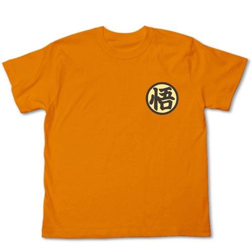ドラゴンボール改 孫悟空抜染Tシャツ改 カメオレンジ サイズ:L
