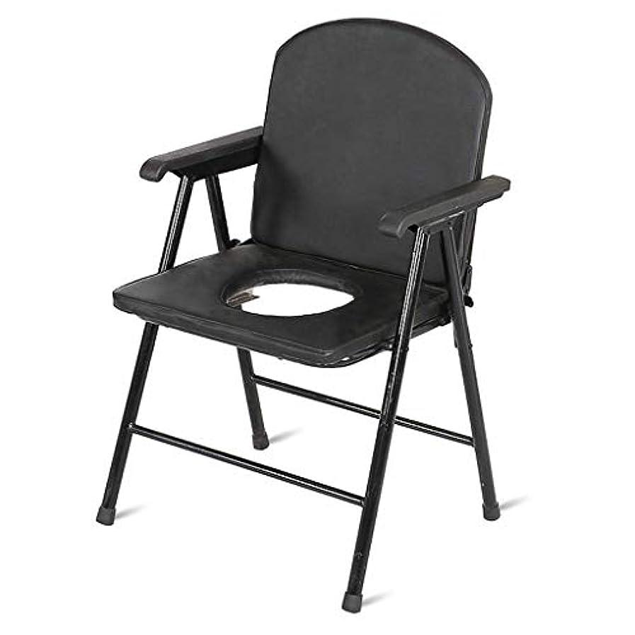 に対応副タバコパッド入りシート、大人用折りたたみ式便器チェア、取り外し可能なパッド付きシート、トイレ付きの高齢者用デラックスコンフォート便器