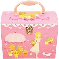 【Lily&Ally】 プレゼントにぴったり / サマーガーデンプリンセス オルゴール付き キッズジュエリーボックス My Summer Garden - Heather / Musical Jewelry Box / Kids' Jewelry Box / 子供 ジュエリーボックス オルゴール 子供用 宝石箱