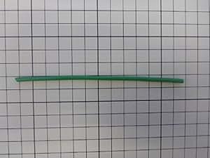 600Vビニル絶縁電線(緑) 約1m(1000mm) (IVケーブル1.6mm 緑色)