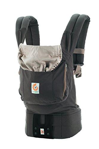 エルゴベビー(Ergobaby) 抱っこひも おんぶ 装着簡単 オーガニック/ダークココア【日本正規品保証付】 CREGBCGBNTP