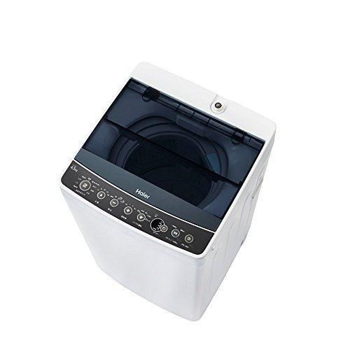 ハイアール 4.5kg 全自動洗濯機 ブラックHaier JW-C45A-K...