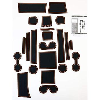 売れ筋 JEPPESENラバーマット 三菱 デリカD5 専用設計 アクティブギア オレンジ