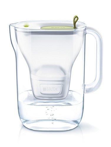 ブリタ 浄水 ポット 1.4L スタイル ライム マクストラプラス カートリッジ 1個付き 【日本仕様・日本正規品】