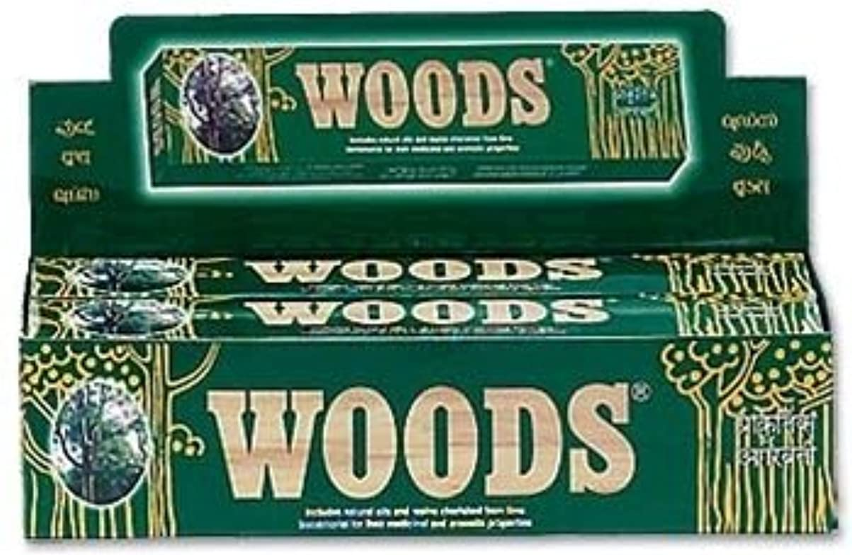 認める紳士賛辞Woods Natural Incense - Wholesale Pack