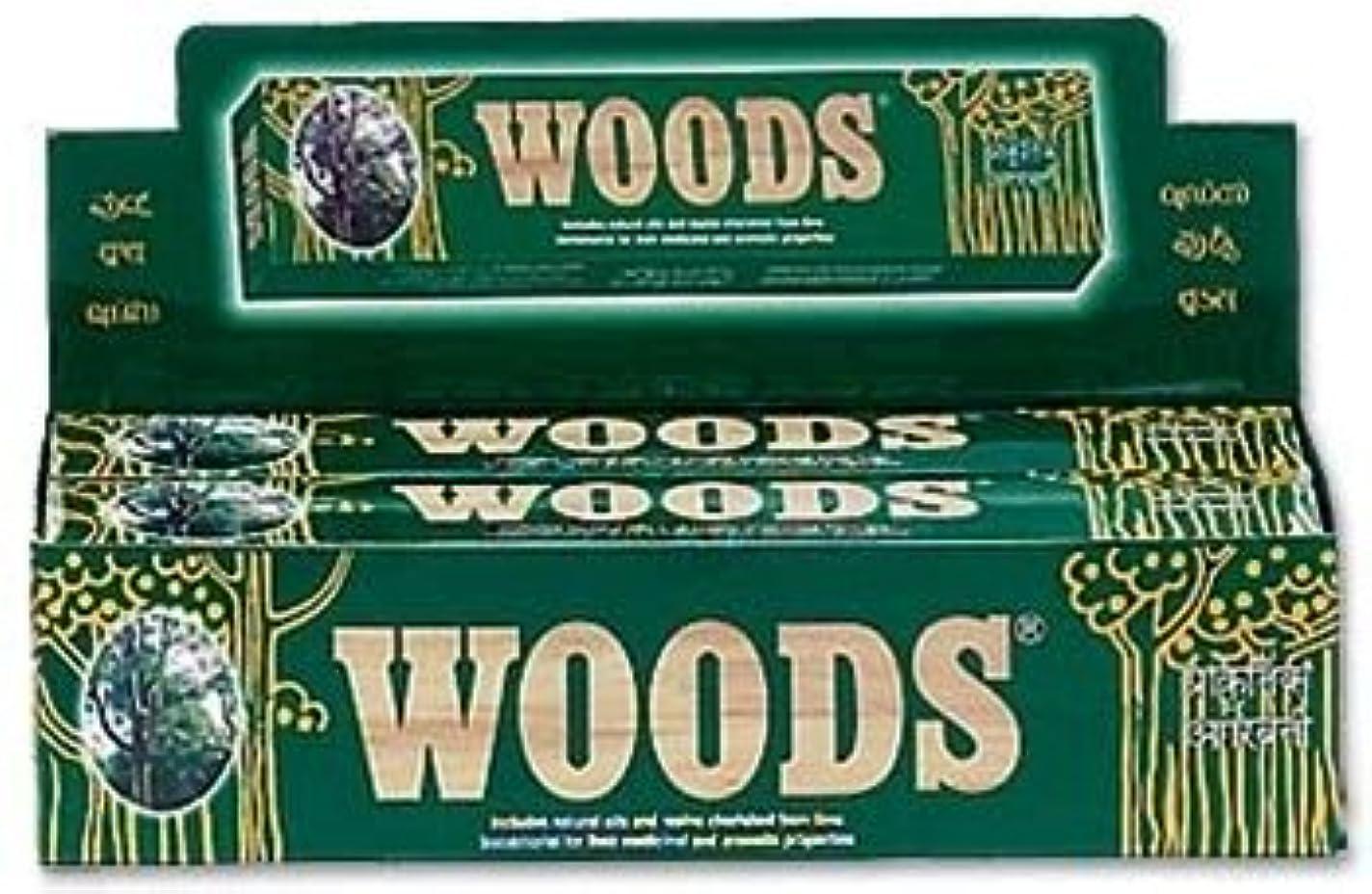 有名な中スラッシュWoods Natural Incense - Wholesale Pack