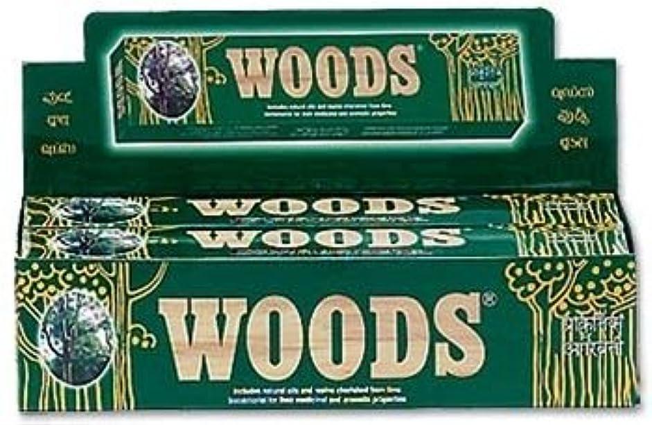 敬詳細に政権Woods Natural Incense - Wholesale Pack