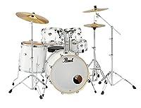 Pearl ドラムセット EXX725S/C #33 Pure White パール シンバル付ドラムフルセット