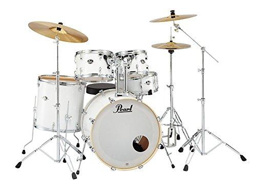 Pearl EXX725S/C No.33+ドラムマット ピュアホワイト エントリーモデル/