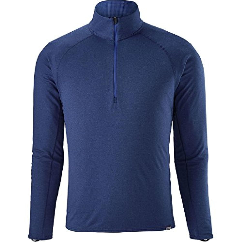 パタゴニア スポーツ フィットネス トップス Capilene Midweight Zip-Neck Top - Men's Viking Blu i6q [並行輸入品]