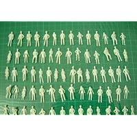 プライザー ジオラマ 模型 人 ミニフィギュア 100体セット プラモデル 鑑賞 Nゲージ 1:200