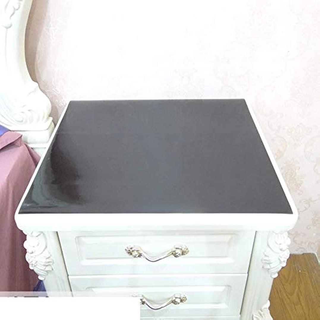 居住者ハードウェア守るテーブルクロス/ [防水]、使い捨て、ベッドサイドテーブル、PVCテレビキャビネット、テーブルクロス/透明、プラスチック、ティーテーブルマット/ソフト、ガラス、テーブルクロス-I 50x50cm(20x20inch)